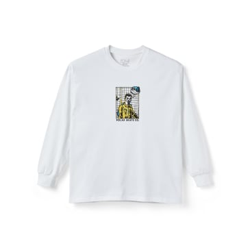 Polar Skate Co Medusa Desires Long Sleeve T-Shirt - White