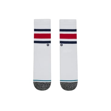 Stance Boyd ST Kids Socks - White
