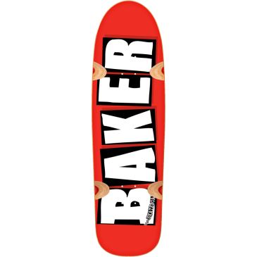Baker Skateboards Brand Logo Cruiser Skateboard Deck- 8.5