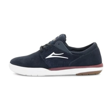 Lakai Fremont Shoes - Navy/Red Suede