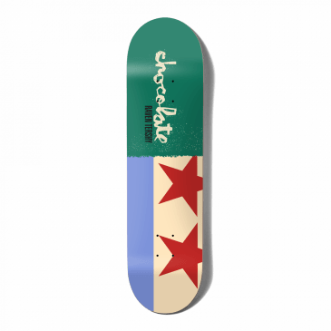 """Chocolate Skateboards - 8.5"""" Raven Tershy Giant Flags Deck"""