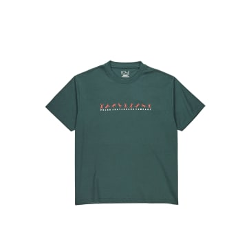 Polar Skate Co Cartwheel T-Shirt - Grey Teal