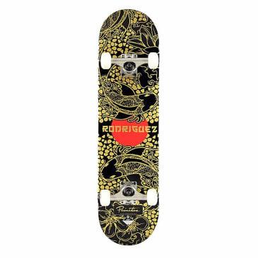 Primitive Koi Pond Rodriguez Complete Skateboard - Black/Gold - 8.00