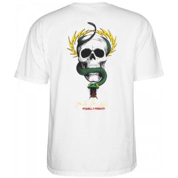 Powell Peralta McGill Skull & Snake T-Shirt - White