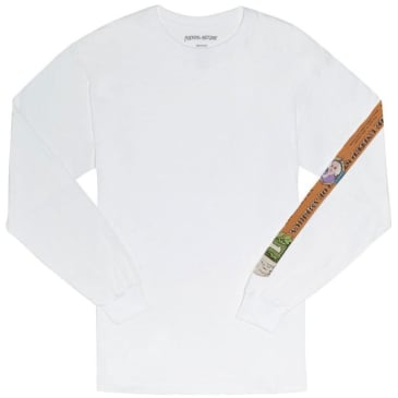 Fucking Awesome Blunt Long Sleeve T-Shirt - White