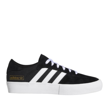 adidas Skateboarding Matchbreak Super Shoes - Core Black / FTWR White / Gold Met