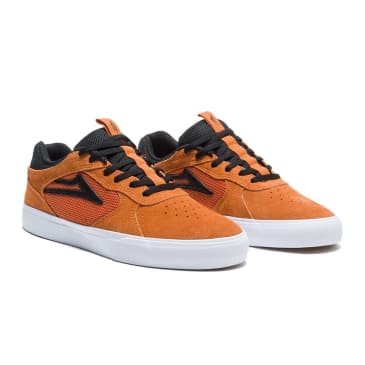Lakai Proto Vulc Burnt Orange Suede Skate Shoes