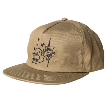 Krooked - Death ADJ Khaki/Black Hat