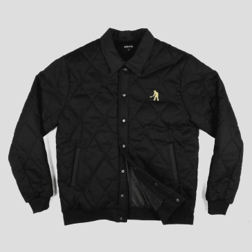 """PASS~PORT """"LATE QUILTED"""" JACKET BLACK"""