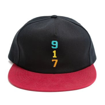 Call Me 917 Genny's 917 Hat - Black / Red