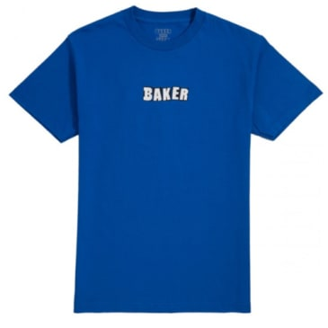 Baker Brand Logo Tee - Royal Blue