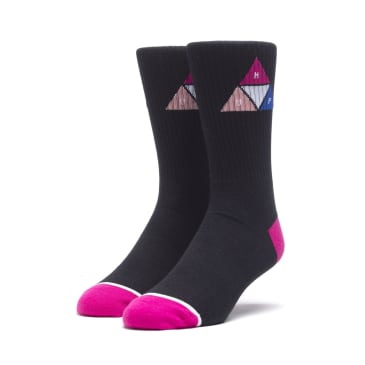 HUF Prism Triangle Sock - Black