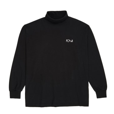 Polar Skate Co Script Turtleneck - Black