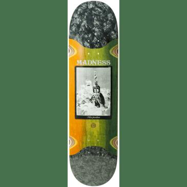 Madness Skateboards Alex Perelson Remedio Slick Skateboard Deck - 8.375