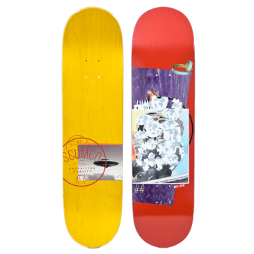 Scumco & Sons Dave Abair SMP Skateboard Deck - 8""
