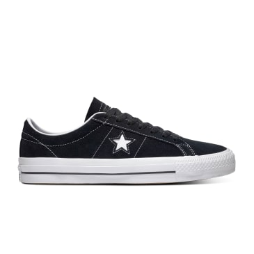 Converse CONS - One Star Pro Suede (Black/White)