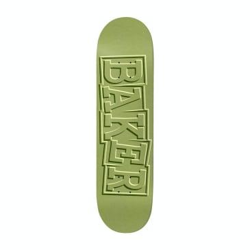 """Baker Skateboards T-Funk Ribbon Green Skateboard Deck - 8.5"""""""