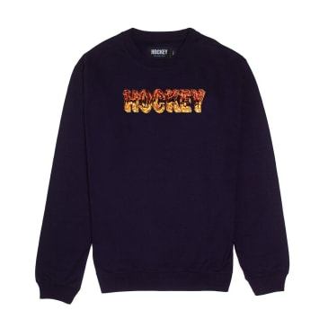 Hockey Ice Crewneck Black