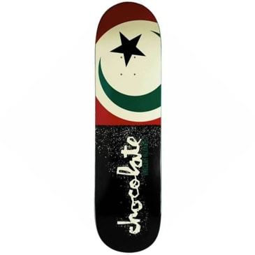 "Chocolate Skateboards - Vincent Alvarez Giant Flags Deck 8.25"" Wide"