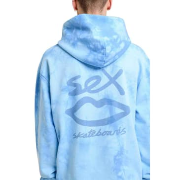 "Sex ""Subtle Tie Dye"" Hood (blue)"