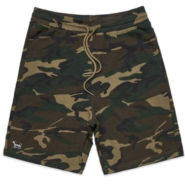Black Sheep French Terry Icon Short Woodland Camo