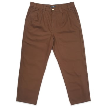 "THEORIES-""COSMO SLACKS""(BROWN)"