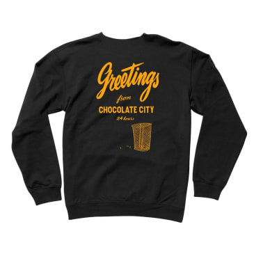 Chocolate Greetings Crew Black