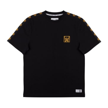 WELCOME Chalice Taped Tee Black/Gold