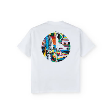 Polar Skate Co Memory Palace Fill Logo T-Shirt - White