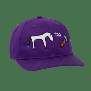 Frog Skateboards Horse Hat - Purple