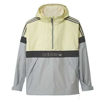 Adidas Snowbreaker Jacket - Haze Yellow/Stone/Carbon