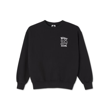 Polar Skate Co Big Boy Club Crewneck - Black