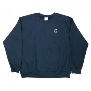WKND Skateboards Logo Crewneck Sweatshirt - Navy
