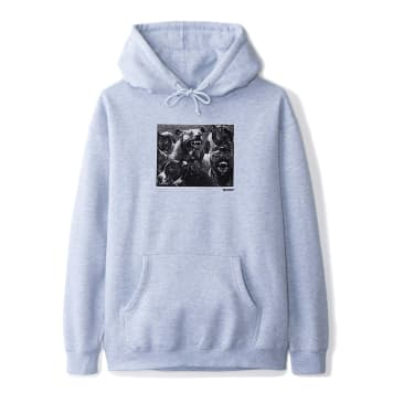 Butter Goods - Forgive Hoodie - Heather Grey