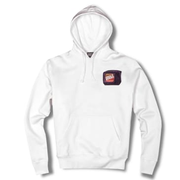 Life's A Beach Stack Hoodie - White