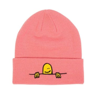 THRASHER X GONZ SAD LOGO BEANIE - LIGHT PINK