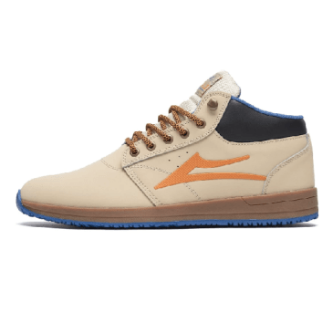 Lakai Griffin Mid All Weather Shoes - Tan/Nubuck