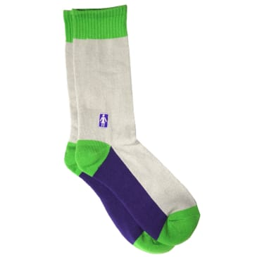 Girl OG Socks Cream/Green