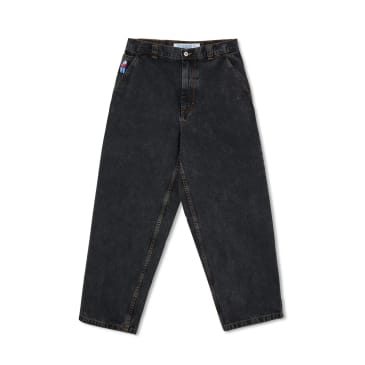 Polar Skate Co Big Boy Work Pants - Washed Black