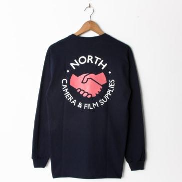 North Magazine Camera Supplies Longsleeve Navy