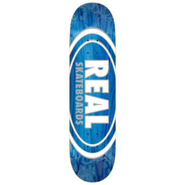 Real Oval Pearl Patterns Deck 7.75""