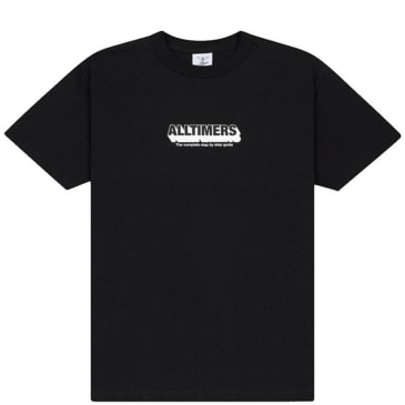 Alltimers Guide To Life T-Shirt - Black