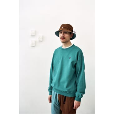 Sweat Shirts French Terry Teal