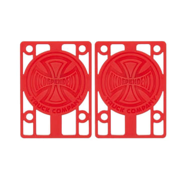 "Independent 1/8"" Red Riser Pads"