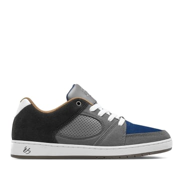 éS Accel Slim Skate Shoes - Grey / Blue / Gum