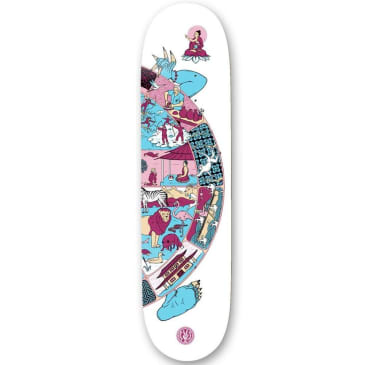 """The Drawing Boards Weel of Life 3 Deck - 8.25"""""""