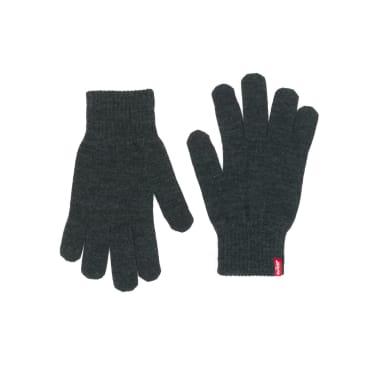 Levis Ben Touch Screen Gloves - Dark Grey