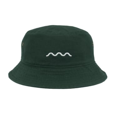 The Good Company - Chill Wave Bucket - Dark Green/White