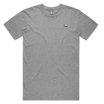 Black Sheep Embroidered Icon Tee Athletic Heather
