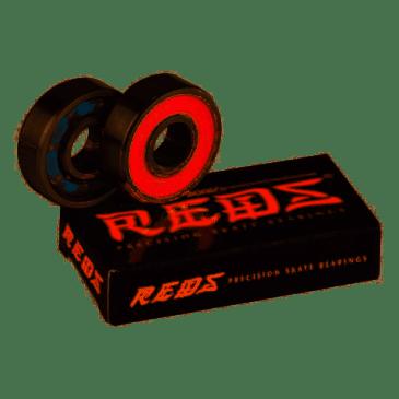 Bones - Bones Race Reds Precision Skate Bearings | Pack of 2